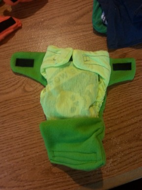Making good quality, cheap cloth diapers