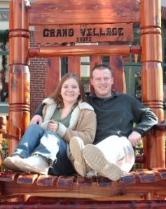 Our honeymoon...