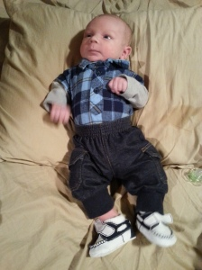 Dressed for church