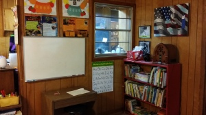 Our learning area of the classroom.